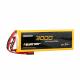 Liperior 3000mAh 2s 20C 6.6V LiFe Receiver Battery Pack with JST/Futaba Plug