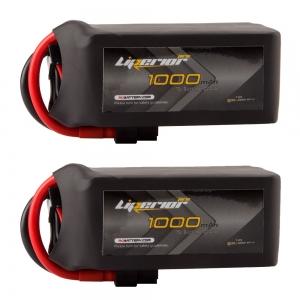 Liperior Pro 1000mah 6S 75C 22.2V Lipo Battery Bundle Deal