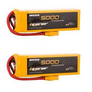 Liperiro 5000mAh 3s 25C  11.1V Lipo Battery Bundle Deal
