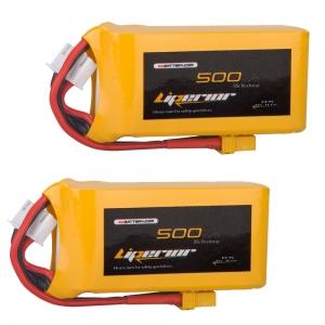 Liperior 500mAh 3S 65C 11.1V Lipo Battery
