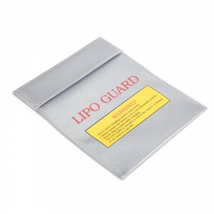Lithium Polymer (Lipo) Fire Retardant Charger Bag 180mm x 220mm