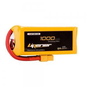 Liperior 1000mAh 3S 25C 11.1V Lipo Battery With XT60 Plug