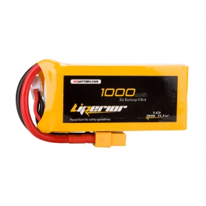 Liperior 1000mAh 3S 35C 11.1V Lipo Battery With XT60 Plug