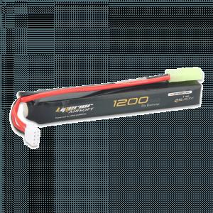 Liperior 1200mAh 3S 25C Lipo Airsoft Pack With Mini-Tamiya