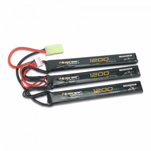 Liperior 1200mAh 3S 25C Lipo Airsoft Nunchuck Pack With Mini-Tamiya