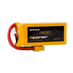 Liperior 1300mAh 3S 25C 11.1V Lipo Battery With XT60 Plug