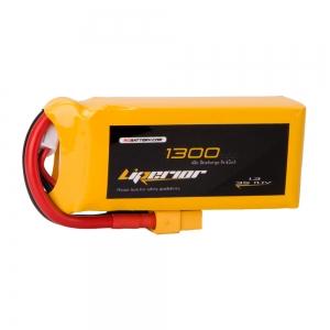 Liperior 1300mAh 3S 45C 11.1V Lipo Battery With XT60 Plug
