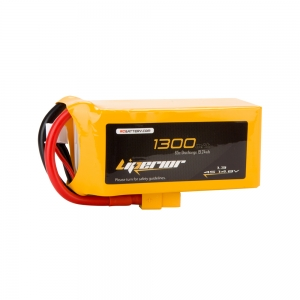 Liperior 1300mAh 4S 65C 14.8V Lipo Battery With XT60 Plug