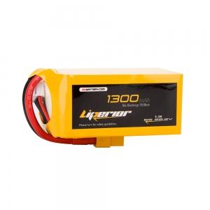 Liperior 1300mAh 6S 65C 22.2V Lipo Battery With XT60 Plug