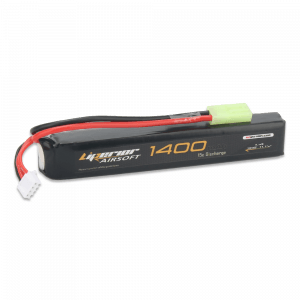 Liperior 1400mAh 3S 15C Lipo Airsoft Pack With Mini-Tamiya