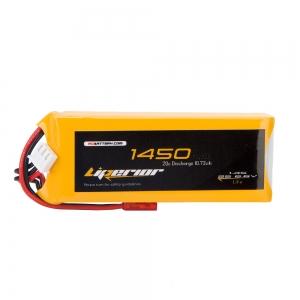 Liperior 1450mAh 2s 6.6V LiFe Receiver Battery Pack