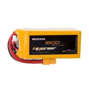 Liperior 1600mAh 4S 65C 14.8V Lipo Battery With XT60 Plug