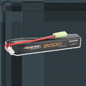 Liperior 2000mAh 3S 15C Lipo Airsoft Pack With Mini-Tamiya