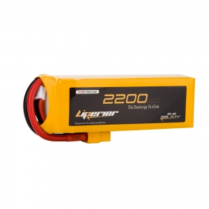 Liperior 2200mAh 3S 25C 11.1V Lipo Battery With XT60 Plug
