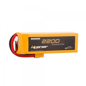 Liperior 2200mAh 3S 35C 11.1V Lipo Battery With XT60 Plug