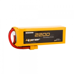 Liperior 2200mAh 3S 50C 11.1V Lipo Battery With XT60 Plug
