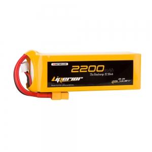 Liperior 2200mAh 4S 25C 14.8V Lipo Battery With XT60 Plug