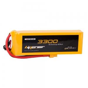Liperior 3300mAh 4S 40C 14.8V Lipo Battery With XT60 Plug