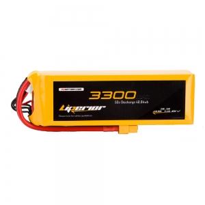 Liperior 3300mAh 4S 50C 14.8V Lipo Battery With XT60 Plug