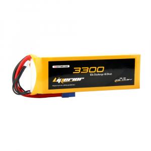 Liperior 3300mAh 4S 60C 14.8V Lipo Battery With EC3 Plug