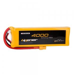 Liperior 4000mAh 2S 35C 7.4V Lipo Battery With XT60 Plug