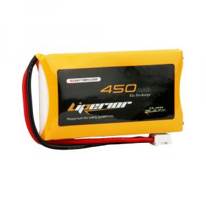 Liperior 450mAh 1S 65C 3.7V Lipo Battery With JST-PHR 2.0