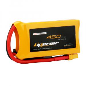 Liperior 450mAh 2S 35C 7.4V Lipo Battery With XT30 Plug