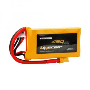 Liperior 450mAh 2S 45C 7.4V Lipo Battery with XT30 Plug