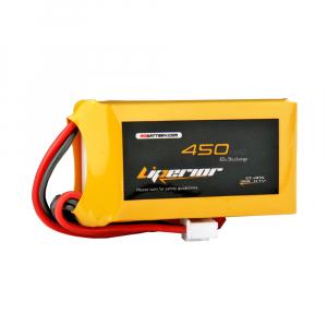 Liperior 450mAh 3S 65C 11.1V Lipo Battery With JST Plug