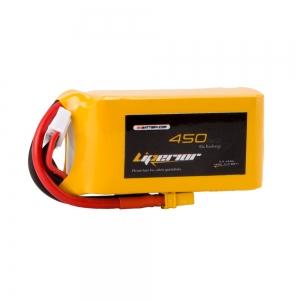 Liperior 450mAh 4S 65C 14.8V Lipo Battery With XT30 Plug