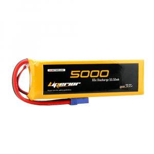 Liperior 5000mAh 3S 65C 11.1V Lipo Battery With EC5 Plug