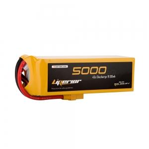 Liperior 5000mAh 6S 45C 22.2V Lipo Battery With XT90 Plug