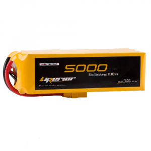 Liperior 5000mAh 6S 65C 22.2V Lipo Battery With XT90 Plug