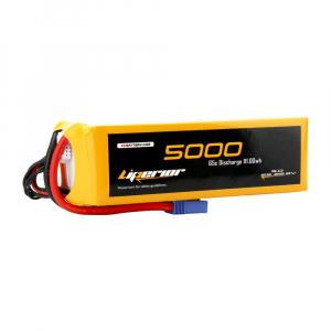 Liperior 5000mAh 6S 65C 22.2V Lipo Battery With EC5 Plug