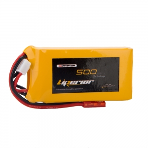 Liperior 500mAh 2S 25C 7.4V Lipo Battery With JST Plug