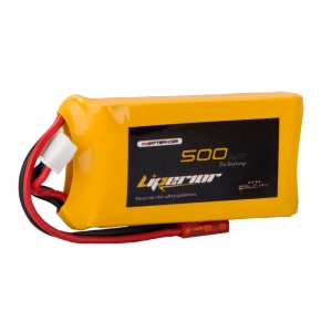 Liperior 500mAh 2S 35C 7.4V Lipo Battery With JST Plug