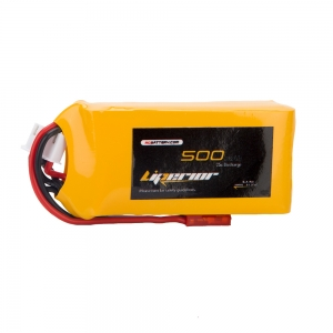 Liperior 500mAh 3S 25C 11.1V Lipo Battery With JST Plug