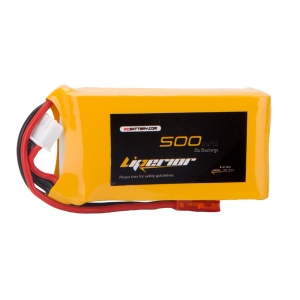 Liperior 500mAh 3S 35C 11.1V Lipo Battery With JST Plug