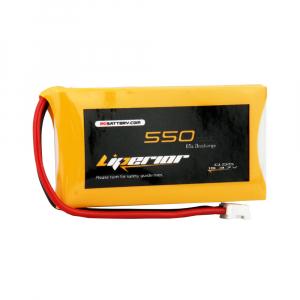 Liperior 550mAh 1S 65C 3.7V Lipo Battery With JST-PHR 2.0