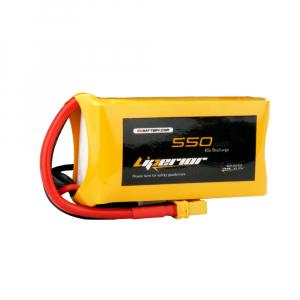 Liperior 550mAh 3S 65C 11.1V Lipo Battery with XT30 Plug