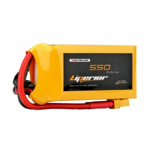 Liperior 550mAh 4S 65C 14.8V Lipo Battery with XT30 Plug