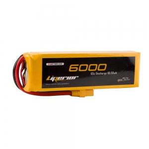 Liperior 6000mAh 3S 65C 11.1V Lipo Battery With XT90 Plug