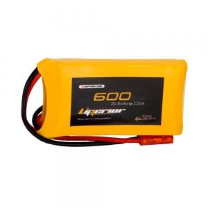 Liperior 600mAh 1S 35C 3.7V Lipo Battery With JST Plug