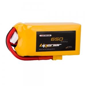 Liperior 650mAh 3S 65C 11.1V Lipo Battery With XT30 Plug