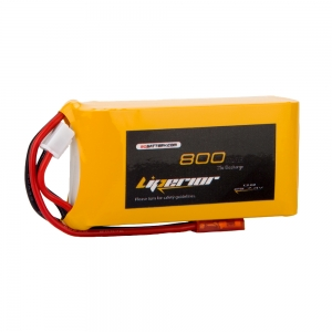 Liperior 800mAh 2S 25C 7.4V Lipo Battery With JST Plug
