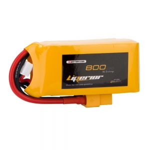Liperior 800mAh 3S 50C 11.1V Lipo Battery With XT60 Plug