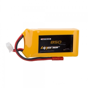 Liperior 850mAh 2S 25C 7.4V Lipo Battery With JST Plug