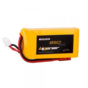 Liperior 850mAh 2S 35C 7.4V Lipo Battery With JST Plug