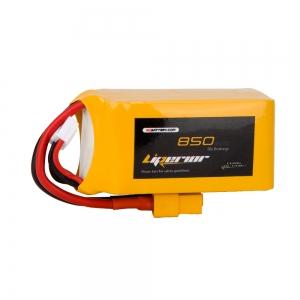 Liperior 850mAh 4S 65C 14.8V Lipo Battery With XT60 Plug