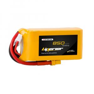 Liperior 850mAh 4S 65C 14.8V Lipo Battery With XT30 Plug RCBattery.com